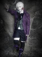 Alois Trancy Cosplay Pose 5 by QuidProQuoEX