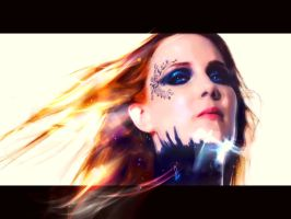 Simone Simons - Storm The Sorrow by MDraker