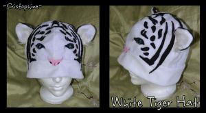 White Tiger Hat by Cristophine