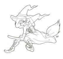 Halloween Witchy by Insane-Village-Idiot