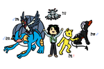 Nuzlocke Current Team and Recap! by DandyDesigns