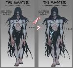 Character Concept Design: The Master by moni158