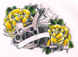 Tattoo machine by Kirzten
