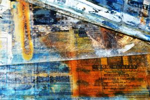 Old Newspaper Texture 2 by jojo22