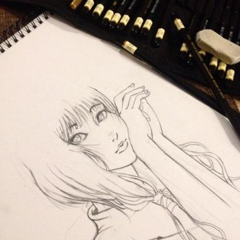 Some sketch :) by kanioss29