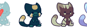 More Cat Adopts~ .:CLOSED:. by CocoaAdopts