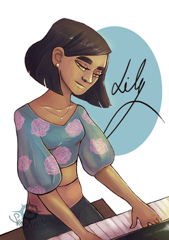 Lily - Giveaway for Copfi by SunnyChest