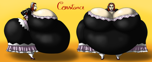 Sumo Inflated Girls Head Maid Constance by kecomaster
