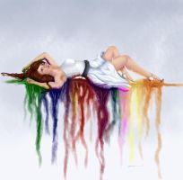 Bleeding Rainbow by StereophonicDream