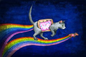 Nyan Cat by SenselessSanity
