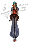 Phoenix Queen (design for Gaga's contest) by cacahuate16