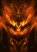 Fire Elemental Hi-Res by raysheaf