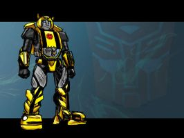 Bumblebee Redesign WP by jameson9101322