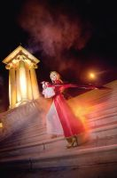 FATE EXTRA, Saber Nero by fritzfusion