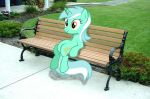Lyra the Sitting Pony by SparkBrony
