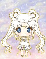 Chibi Sailor Cosmos by DeadPeppermint