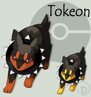 Fakemon: Tokeon by JaDisArt