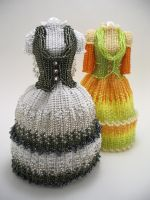 Eumelia Eridas Bead Dresses by pinkythepink