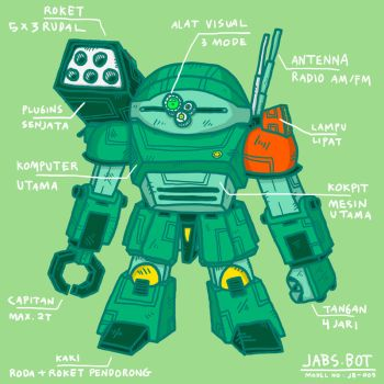 JABS-BOT model no JB-005 by paldipaldi