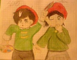 Ado and Adeleine by Greasiggy
