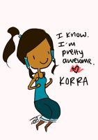 I'm Korra and I Know It~ by himegane