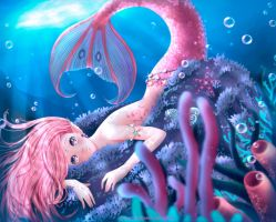 Haru, The Mermaid by Nailyn