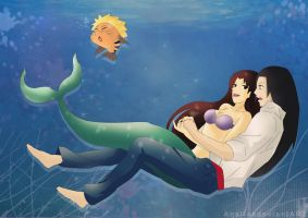 Nejiten ~ The Little Mermaid by Anaiisa
