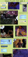 Emma Plays The Sims ft. OC's by IrrelevantFrenchFry