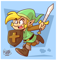 Legend of Zelda by BezerroBizarro