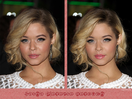 Retouch Sasha Pieterse by theskyinside