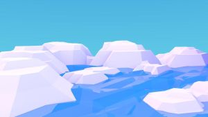 Low Poly Icebergs by Guizx