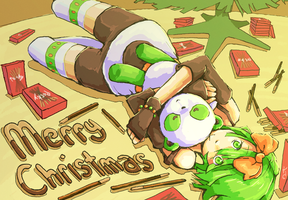 Merry Christmas, KyattoIvery by Omega-Sigh