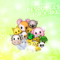 Resources Pack. #102 by DenizBas