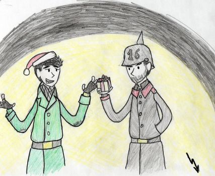Christmas Truce by august-vidal