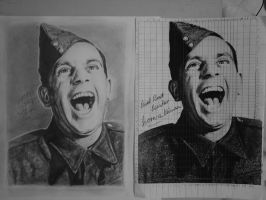 Norman Wisdom by WJLACEY