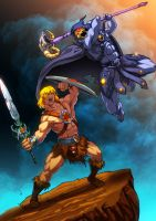 He-man V/s Skeletor - Eternal Enemies by JazylH