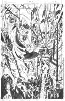Masters of the Universe 8 She Ra pg 6 pencils by DrewEdwardJohnson