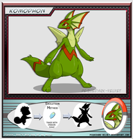 Alternative Evo:  KOMODHON by PEQUEDARK-VELVET