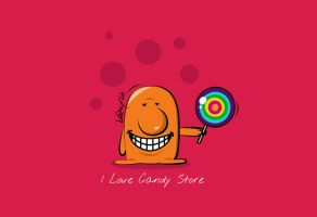 I Love Candy Store by Latefah