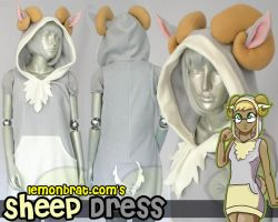 Sheep Dress by lemonbrat