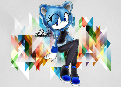 Art Trade ~ Sapphire---Blue by Jigglyking20