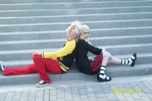 Maka and Soul 2 by Halowing
