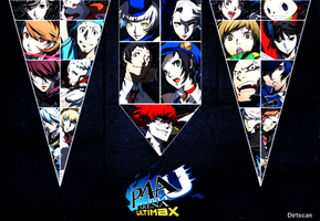 Persona 4 Arena Ultimax by dirtscan