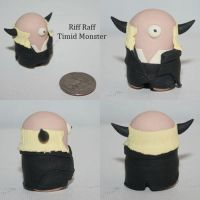 Riff Raff Timid Monster by TimidMonsters