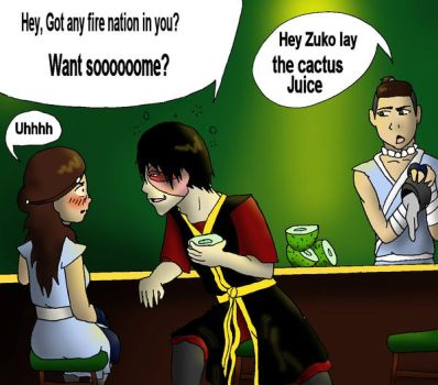 Zutara Week-Cactus Juice by ThatJemmaGirlDraws