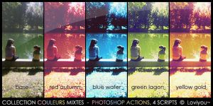 Couleurs mixtes PS Actions by Loviyou