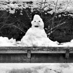 Lonely lonely monochrome snowman... by Coigach