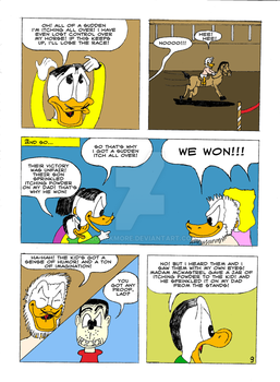 The Life and Times of Tzatzikis Duck (9th page) by Quackmore