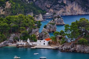 Parga coast by Kounelli1