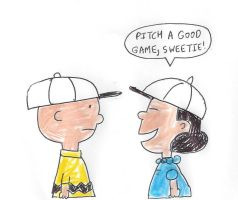 Lucy's baseball compliment to Charlie Brown by dth1971